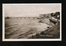 Somerset CLEVEDON The Pier Used 1912 RP PPC by Harvey Barton