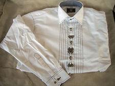 German Trachten Shirt Lederhosen Oktoberfest New  M, L, XL, XXL, XXXL