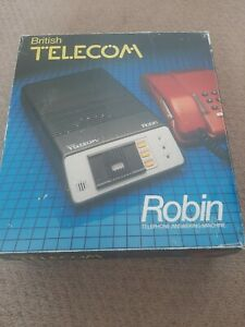 Vintage BT British Telecom Robin Answering Machine tried and tested.