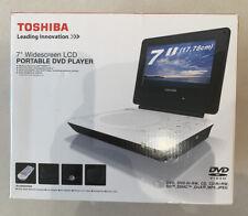 """Toshiba 7"""" Widescreen LCD Portable DVD Player."""