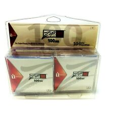 *7 PACK* IOMEGA ZIP DISK 100MB - Brand New Open Box