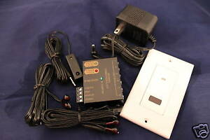 IR Repeater System Kit including In Wall IR Receiver Professional look and feel