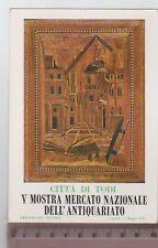 Cartolina Umbria - Todi V Mostra Antiquariato - PG 4804