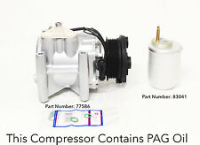 00-08 JAGUAR S-TYPE; 00-05 LINCOLN LS A/C COMPRESSOR KIT WITH ONE YEAR WARRANTY.