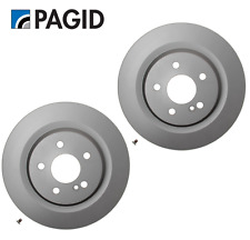 For Mercedes CL550 07-14 Set of 2 Vented Rear Disc Brake Rotors Pagid 355113992