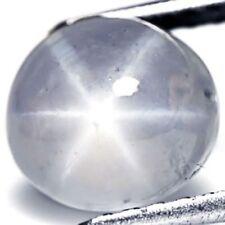 SRI LANKA Blue Star Sapphire 4.33 Cts Natural Untreated Light Blue Oval