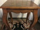 Antique+Ethan+Allen+Country+French+Pedestal+Side+Table++PREFER+LOCAL+PICKUP%2A