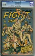 FIGHT COMICS #29 CGC 6.0 OW/WH PAGES // GOLDEN AGE WAR BOOK 1943