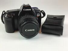 Canon EOS Rebel II 35mm SLR Film Camera, 35-80mm 1:4-5.6 Zoom Lens, 200E Flash