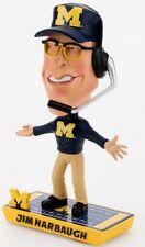 NCAA Michigan Wolverines Jim Harbaugh Caricature Bobblehead