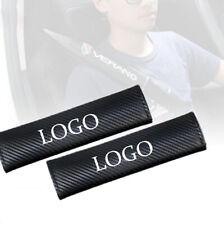 2PCS For Dodge Car Seat Belt Safety Shoulder Strap Cover Cushion Harness
