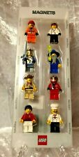 VINTAGE LEGO MINI FIGURE MAGNET SET - NEW