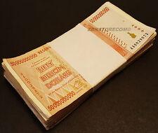 100 x 50 Billion Zimbabwe Dollars Banknotes AA AB 2008 Bundle Lot -*Pre Trillion
