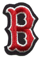 "BOSTON RED SOX MLB BASEBALL 2.75"" LETTER B TEAM LOGO PATCH"