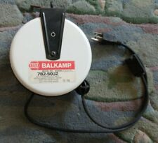 Napa Balkamp Retractable Extension Cord 20 Ft Outlet Ceiling Mount Reel