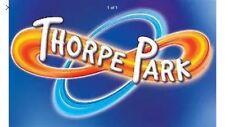 2 x Thorpe Park tickets school holidays Monday 30th July 2018