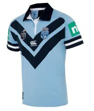 NSW Blues State of Origin 2018 Classic S/s Jersey Sizes S - 4xl Small