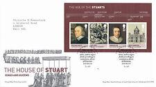 15 GIUGNO 2010 STUART M/foglio di Royal Mail FIRST DAY COVER Royal Oak SHS un