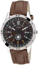 TIMEX Analog Brown Strap Sports Watch for Mens TI000U90300