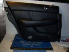 1998 Acura RL door panel driver left rear black leather