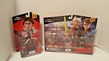 Star Wars Twilight of the Republic & Hans Solo Disney Infinity New