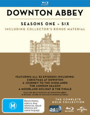 Downton Abbey Complete Series Season 1-6 Gold Collection New Oz Blu Ray Set