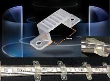 100pcs 9mm x7mm PVC Mouting Brackets for 110V 5050/3528 IP67/68 LED Strip Light