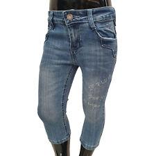 CHILONG - Kinder 3/4 Jeans Mädchen ZX-017 blue (blau)
