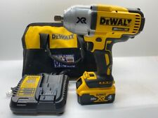 """Dewalt DCF899 1/2"""" Max XR Brushless Impact Wrench 4 Ah Battery & Charger"""