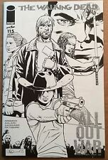 WALKING DEAD #115 Rare Midnight Release Variant Cover N; Near Mint/Mint