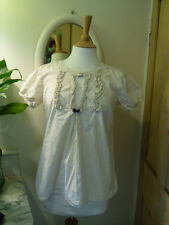 ODD MOLLY UNCORPORATED SMOCK TOP SIZE 3 COTTON EMBROIDERY BLOUSE