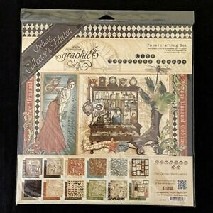 NEW Graphic 45 Olde Curiosity Shoppe Deluxe Collector's Edition Item # 4501517