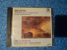 Johannes Brahms : Symphonie N°4 - Ouv. Tragique - Carl Schuricht