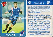 """RARE !! Vignette ROCHE """"EQUIPE DE FRANCE 1996"""" Panini VACHE QUI RIT"""