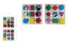 Gioco Forme In Legno Puzzle Colorato Educativo Bambini dfh