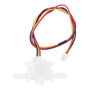 0.25-3.0 L/min OD 6mm Water Flow Sensor Fluid Flow Meter Hall Magnetic Switch