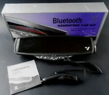 BOYO VTB-88 Universal Clip-on Rearview Mirror with Built-in Bluetooth Hands-free