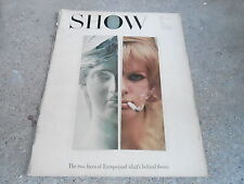 MAY 1962 SHOW movie and arts oversized magazine EUROPE