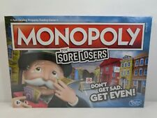 Monopoly For Sore Losers Hasbro Board Game Factory Sealed