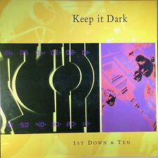 Keep It Dark - 1st Down & Ten - Elektra Records - 1986 - Vinyl