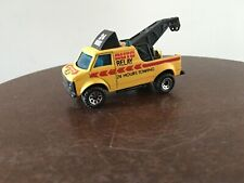 Matchbox Breakdown Van, Tow Truck 1985