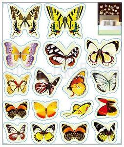 Glow Sticker Beautiful Butterfly Glow In The Dark Stickers Cute Butterfly