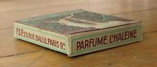 Candy/Mint Advertising Box 1930s 'Menthe Audeval' - French Country Store, Full