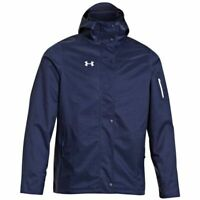 NWT Men's UNDER ARMOUR Team Armourstorm ColdGear INFRARED Navy Blue JACKET
