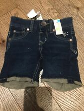 Nwt Justice Shorts Jeans Shorts Size 6 Slim Vacation Resort Knit