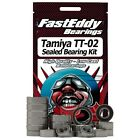 FAST EDDY TFE411 SEALED BEARING KIT for TAMIYA TT-02 CHASSIS UPGRADE