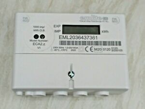 Emlite ECA2 100A Single Phase Kwh Electric Reading Meter Pulsed Output MID RHI
