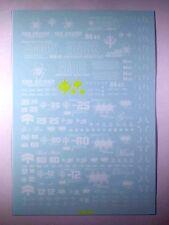 Mg Ms-09 Rick Dom Black Triple Star Gundam Water Decal for Bandai Model Hobbies