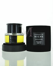 Black Onyx by Armaf Niche Eau de Toilette 3 oz 90 ml Spray for Unisex NIB