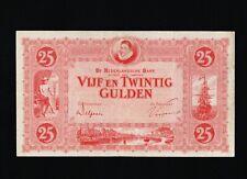 25 Gulden von 1930, Original Banknoten in *VF* Erhaltung!